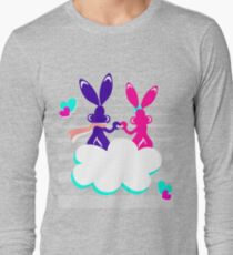 Love is.. / Couple of bunnies in love  Long Sleeve T-Shirt