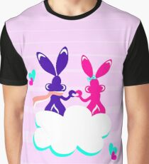 Love is.. / Couple of bunnies in love  Graphic T-Shirt
