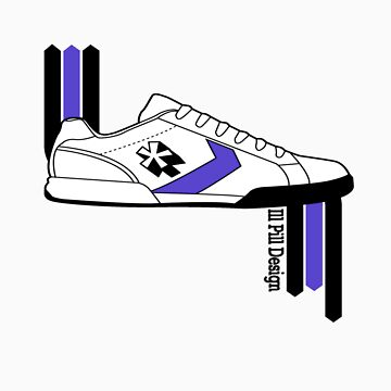 My Sneaker in black by illpilldesign