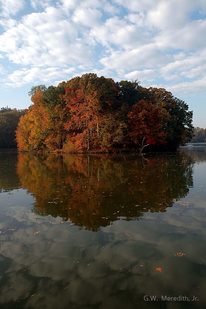 Allen Pond Fall Colors by G.W.  Meredith, Jr.