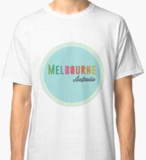 Melbourne Round Rainbow Classic T-Shirt