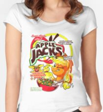 apple jacks Women's Fitted Scoop T-Shirt