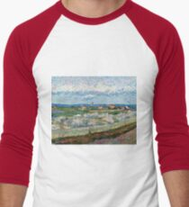 The Crau with Peach Trees in Bloom 1889 Vincent Van Gogh T-Shirt
