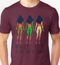 Wonder Butts - Feminism, all Ages Sex Races Planets T-Shirt
