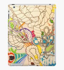 colours without shadows iPad Case/Skin