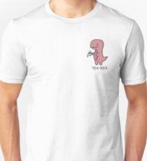 'Tea-Rex' Illustration Unisex T-Shirt