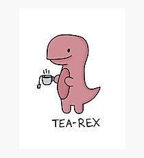 """Tee-Rex"" Illustration Fotodruck"