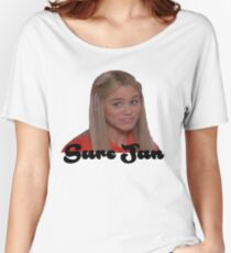 Sure Jan Women's Relaxed Fit T-Shirt