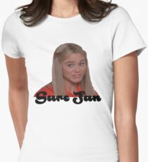 Sure Jan Women's Fitted T-Shirt