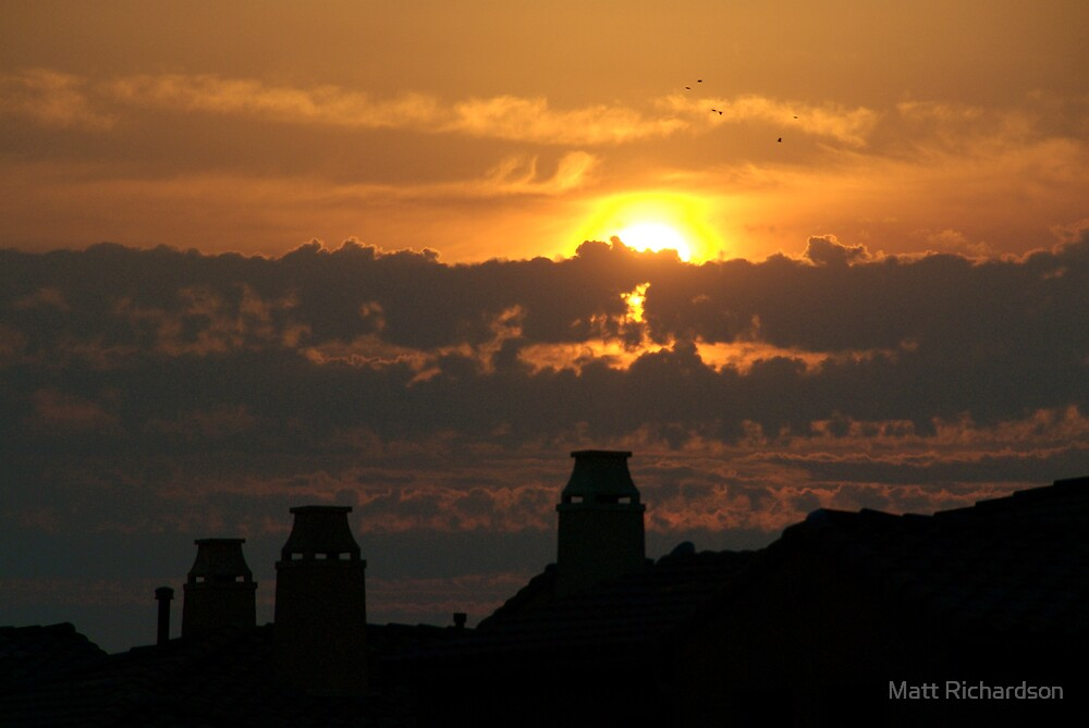san Diego sundown by Matt Richardson