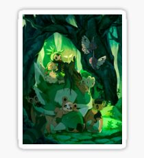 """Father of nature"" Torterra Pokémon Sticker"