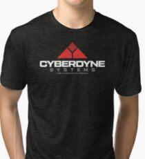 Camiseta de tejido mixto Terminator - Cyberdyne Systems White