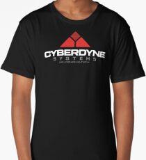 Terminator - Cyberdyne Systems White Long T-Shirt