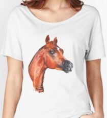 Red Horse Women's Relaxed Fit T-Shirt
