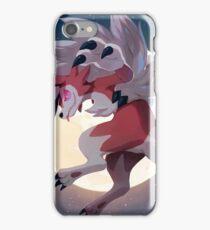 Lycanrock Pokémon Sun and Moon iPhone Case/Skin