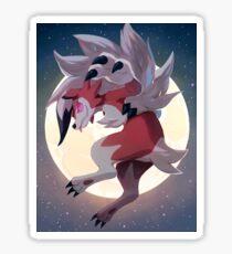 Lycanrock Pokémon Sun and Moon Sticker