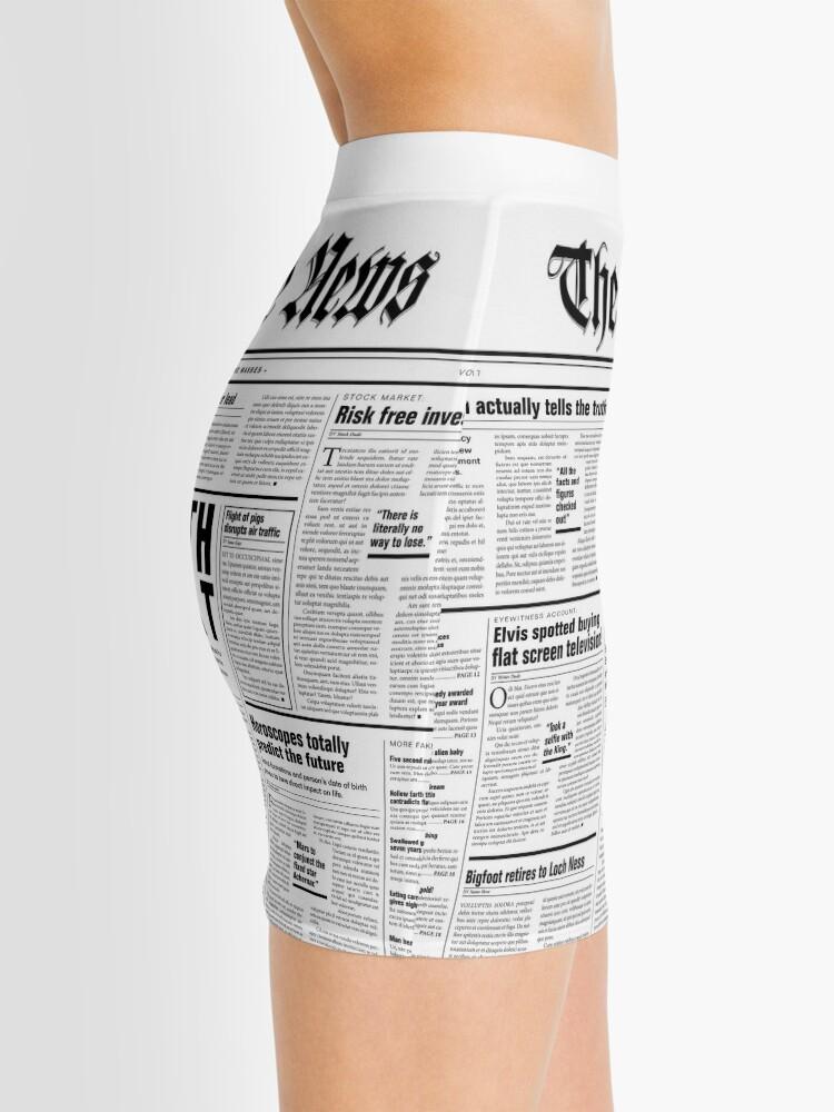 Alternate view of The Fake News Vol. 1, No. 1 Mini Skirt
