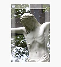 Jesus Hanging on the Cross Photographic Print