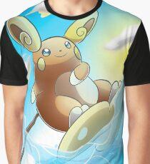 Raichu Alola Pokémon Sun and Moon Graphic T-Shirt