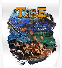 Lake Tahoe - American landscape Poster