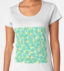 Tropical pinnaples Women's Premium T-Shirt