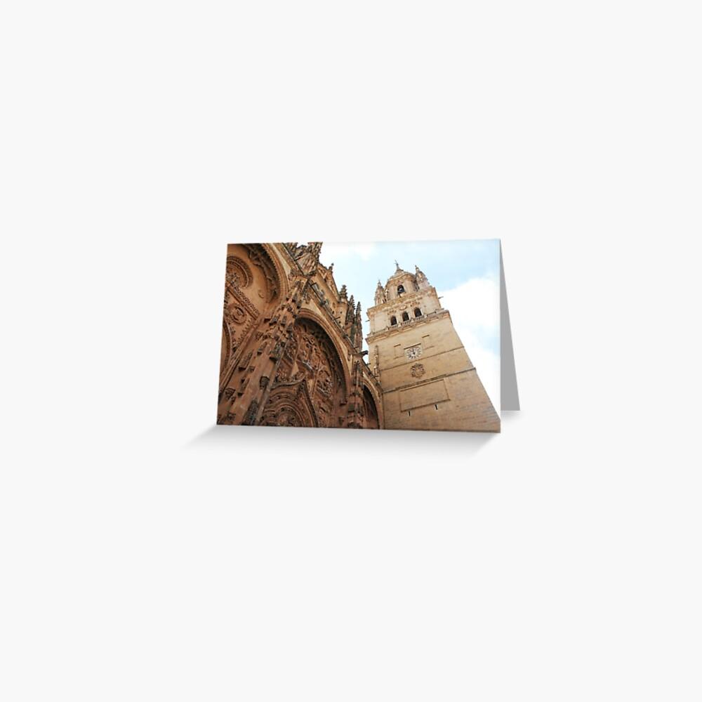 Salamanca-Kathedrale, Spanien Grußkarte
