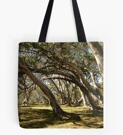 Wind Swept Snowgums,Victorian High Country Tote Bag