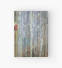 Old wooden doors Hardcover Journal