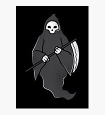 Reaper of Death T-Shirt Creative Grim Shirt Photographic Print