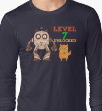 7th Birthday Level 7 Unlocked Gamer Funny Gift Baby T-Shirt