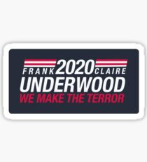 House of cards  Sticker