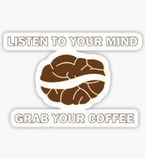 Grap your Cup of Coffee Sticker