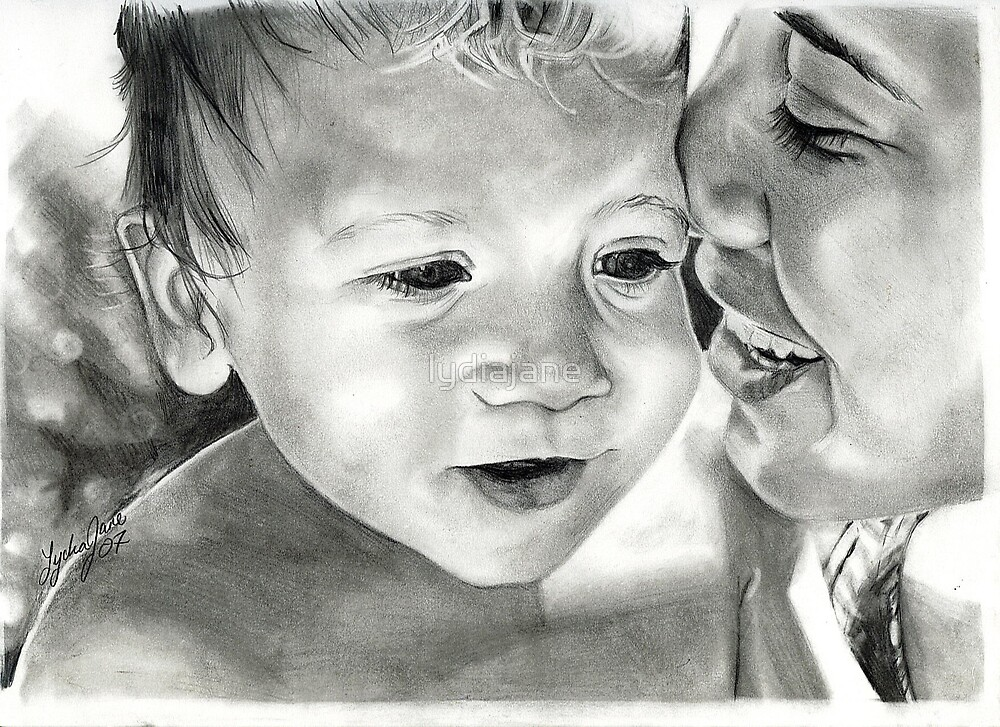 a mother and her child by lydiajane