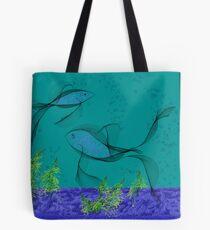 Fractal Fishtank Tote Bag