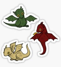 Game of Thrones Drachen Sticker