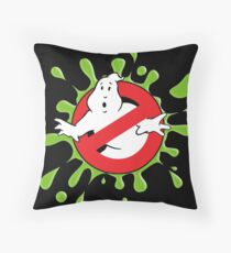Ghostbusters - No Ghost Slime SPLOOSH Throw Pillow