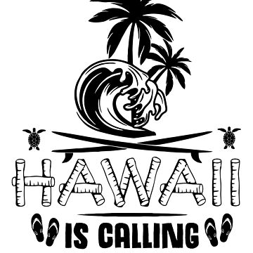 Hawaii Is Calling And I Must Go Shirt, Travel Shirt by acadelle