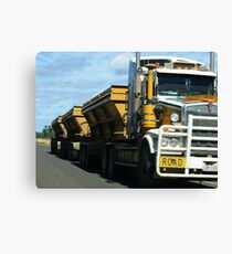 Roadtrain Canvas Print