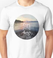 Enjoy the simple things in life - Landscape by the sea T-Shirt