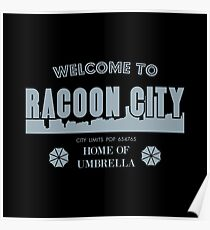Welcome To Racoon City Poster