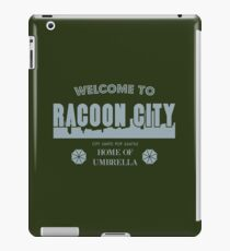 Welcome To Racoon City iPad Case/Skin