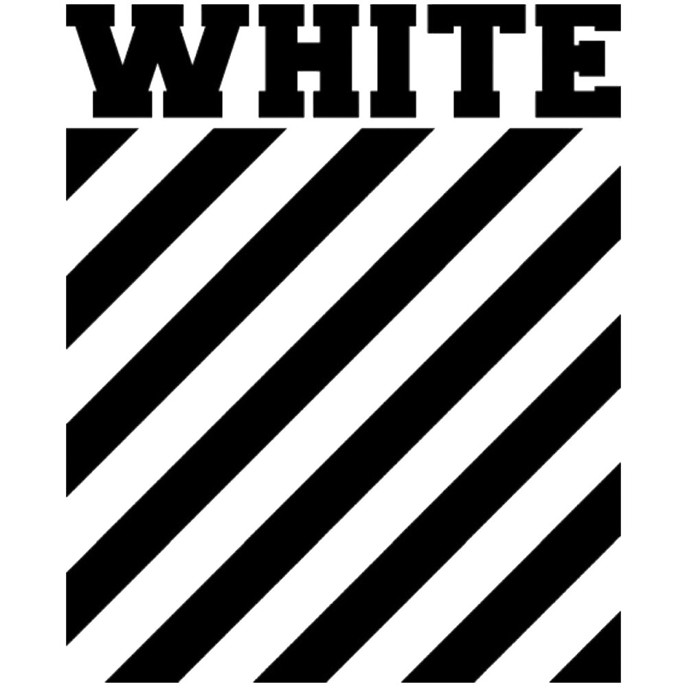 Quot Off White Logo Stripes Quot By Picture Of Nature Redbubble