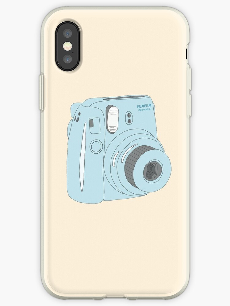 «Kawaii Polaroid Instax Blue» de PeachPantone