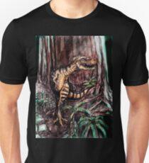 Tyrannosaurus Rex in the woods T-Shirt