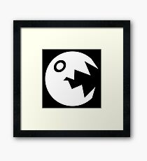 Chainless Chomp Framed Print