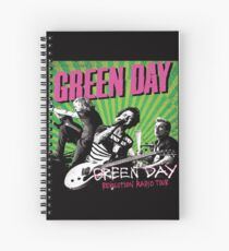 Revolution Radio Green Day Tour  Spiral Notebook