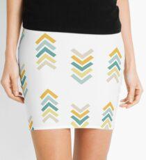 Green & Yellow Arrows Mini Skirt