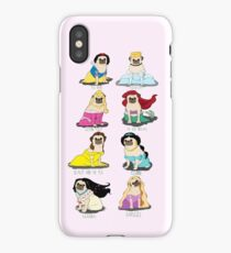 Pug Princesses iPhone Case