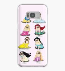 Pug Princesses Samsung Galaxy Case/Skin