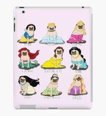 Mops Prinzessinnen iPad-Hülle & Klebefolie